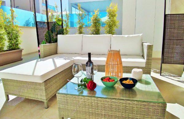 Casa Vacanze Monopoli con veranda - Magnolia - Casa dei Fiori - My Monopoli
